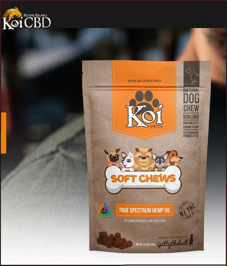 KOI Animal CBD Soft Chews