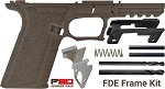 POLYMER80 PF45™ 80% FDE LARGE FRAME KIT NO SALES TO N.J., WA State, MA, HI, or CT!!!