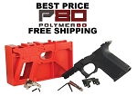 Polymer80 Black Compact 80% Pistol Frame Kit PF940C Glock 19, 23, or 32. NO SALES TO N.J., WA State, MA, HI, or CT!!!